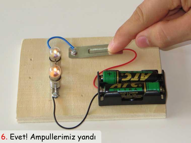 basit elektirik devresi